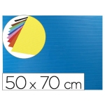 Liderpapel GC04 - Goma eva, espesor de 2,2 mm, 50 cm x 70 cm, ondulada, azul claro