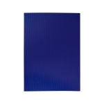 Liderpapel GC05 - Goma eva, espesor de 2,2 mm, 50 cm x 70 cm, ondulada, azul oscuro