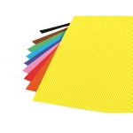 Liderpapel GC11 - Goma eva, espesor de 2,2 mm, 50 cm x 70 cm, ondulada, colores surtidos