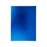 Liderpapel GE85 - Goma eva, espesor de 2 mm, 50 cm x 70 cm, metalizada, azul