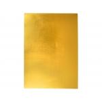 Liderpapel GE88 - Goma eva, espesor de 2 mm, 50 cm x 70 cm, metalizada, oro