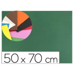 Liderpapel GE10 - Goma eva, espesor de 1,5 mm, 50 cm x 70 cm, color verde