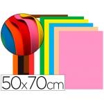 Liderpapel GE95 - Goma eva, espesor de 1,5 mm, 50 cm x 70 cm, paquete de 10, colores surtidos