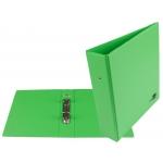 Liderpapel KA21 - Carpeta de anillas, 2 anillas redondas de 40 mm, plástico, tamaño A5, color verde pistacho