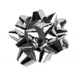 Liderpapel LZ08 - Lazo para regalo, tamaño medio, color plata metalizado