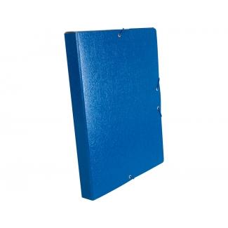 Liderpapel PJ32 - Carpeta de proyectos con gomas, tamaño folio, lomo de 30 mm, color azul