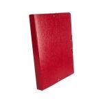 Liderpapel PJ35 - Carpeta de proyectos con gomas, tamaño folio, lomo de 30 mm, color rojo