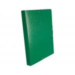 Liderpapel PJ36 - Carpeta de proyectos con gomas, tamaño folio, lomo de 30 mm, color verde