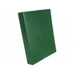 Liderpapel PJ56 - Carpeta de proyectos con gomas, tamaño folio, lomo de 50 mm, color verde