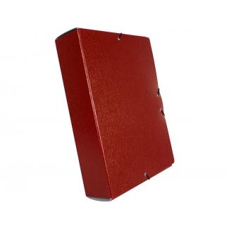 Pregunta sobre Liderpapel PJ75 - Carpeta de proyectos con gomas, tamaño folio, lomo de 70 mm, color rojo