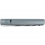 Liderpapel PP06 - Portaplanos plástico, diámetro de 6 cm, extensible hasta 80 cm, color gris