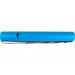 Liderpapel PP07 - Portaplanos plástico, diámetro de 6 cm, extensible hasta 80 cm, color azul