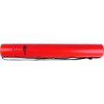 Liderpapel PP08 - Portaplanos plástico, diámetro de 6 cm, extensible hasta 80 cm, color rojo