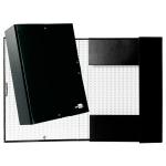 Liderpapel PY93 - Carpeta de proyectos con gomas, tamaño folio, lomo de 90 mm, color negro