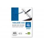 Liderpapel RAA - Recambio agenda anillas, tamaño 14,8x20,5 cm, impresión día página
