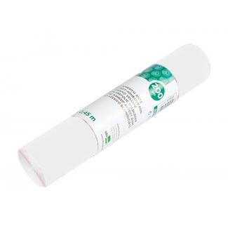 Liderpapel RO09 - Rollo adhesivo, 0,45 x 20 metros, color blanco brillo