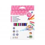 Liderpapel RT12 - Rotuladores de colores, caja de 12 colores