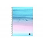 Liderpapel Syros - Agenda anual, tamaño 15 x 21 cm, impresión día página, tapa rígida, encuadernada con espiral, multicolor