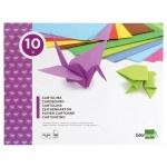 Liderpapel TM02 - Bloc de trabajos manuales, cartulina, 240 mm x 315 mm, 10 hojas, colores surtidos