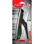 Maped Universal 044200 - Grapadora de tenaza, 20 hojas de capacidad, usa grapas 22/6 - 24/6 - 26/6, color gris plata, en blíster