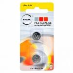 Nx-Power Tech PBLA9005 - Pila alcalina, LR44, blíster con 2 pilas