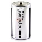 Nx-Power Tech PCA9004 - Pila alcalina, D (LR20)
