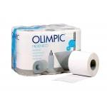 Olimpic 24854 - Papel higiénico, rollo de 90 mm x 18 mt, pack de 12 rollos