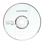 Omega OM50S - CD-R, 52X 700 MB, pack de 50 unidades en blister