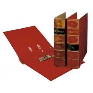 Pardo 235006 - Archivador de palanca, tamaño A4, lomo ancho, con rado, color marrón