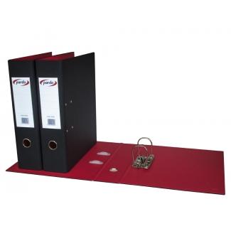Pardo 245001 - Archivador de palanca, tamaño folio, lomo ancho, color negro