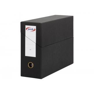 Pardo 245701 - Caja de transferencia, tamaño folio, color negro