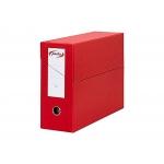 Pardo 245702 - Caja de transferencia, tamaño folio, color rojo