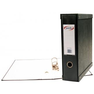Pardo 924101 - Módulo de 1 archivador de palanca, tamaño folio, 2 anillas de 70 mm, color negro