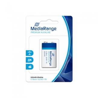 Pila alcalina MediaRange 9V (LR61) blister con 1 pila