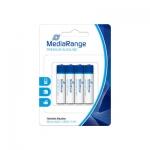 Pila alcalina MediaRange AAA (LR03) blister con 4 pilas