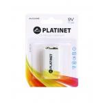Platinet PMBL6LR618 - Pila alcalina, 9V (LR61), blister con 1 pila