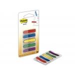 Post-it 684-ARR1 - Banderitas separadoras flechas, pack de 5, colores amarillo, azul, rojo, verde y violeta