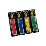 Post-it 684-ARR3 - Banderitas separadoras flechas, pack de 4, colores amarillo, azul, rojo y verde