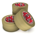 Cinta adhesiva para embalar marrón 50 x 66 mm FixoPack de Grafoplás