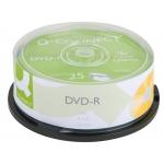 Q-Connect KF00255 - DVD-R, tarrina de 25 unidades