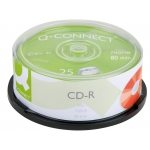 Q-Connect KF00420 - CD-R, tarrina de 25 unidades