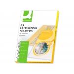 Q-Connect KF04106 - Bolsa de plastificar, A5 (153 x 216 mm), 80 micras, caja de 100