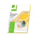 Q-Connect KF04755 - Fundas para plastificar, folio (325 x 220 mm), 80 micras, caja de 100