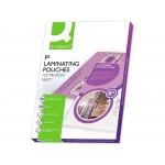 Q-Connect KF04756 - Bolsa de plastificar, folio (325 x 220 mm), 125 micras, caja de 100
