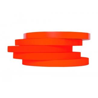 Q-Connect KF10853 - Cinta adhesiva para cerrar bolsas, 9 mm x 66 mt, rojo