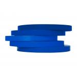 Q-Connect KF10854 - Cinta adhesiva para cerrar bolsas, 9 mm x 66 mt, azul