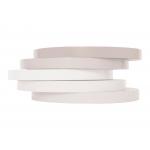 Q-Connect KF10857- Cinta adhesiva para cerrar bolsas, 9 mm x 66 mt, blanco