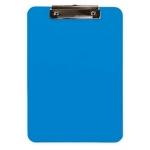 Q-Connect KF11247 - Portanotas de plástico, formato A4, color celeste