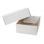 Q-Connect KF14095 - Caja para embalar con tapa, medidas 450 x 280 x 375 mm, cartón de 3 mm