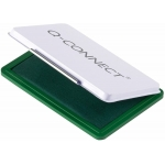 Q-Connect KF16314 - Tampón número 3, tamaño 90 x 55 mm, color verde